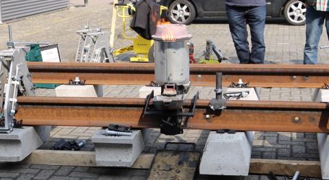 Demonstratie thermietlas-systeem Alom klantendag