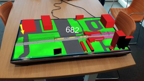 3D Maptable CGI