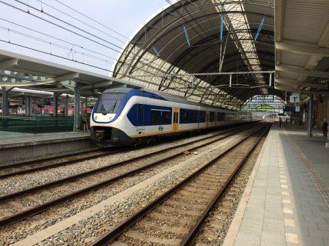NS-trein op station Zwolle