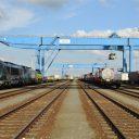 Lineas Fumigate in de haven van Antwerpen