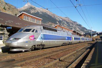 TGV in Modane, Frankrijk. Bron: Florian Pépellin via Wikimedia