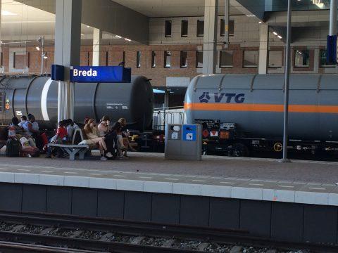Goederentrein gevaarlijke stoffen Breda, Brabantroute