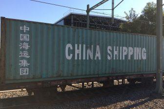 Containertrein Zijderoute