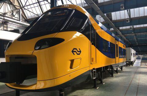 Model ICNG-trein van NS