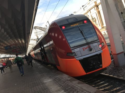 Lastochka Siemens Desiro-trein