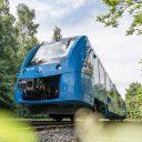 Een Alstom Coradia iLint in Lower Saxony, bron: René Frampe