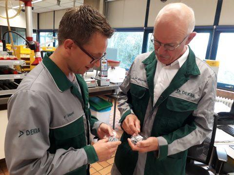 Dekra Rail Floris Manni en Gerrit van Middelkoop