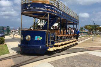 Spoorlijntje Aruba Willemstad. Bron: Alom