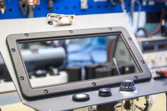 Frame cabineradio 3D-printen. Foto: Kees-Jan Bakker