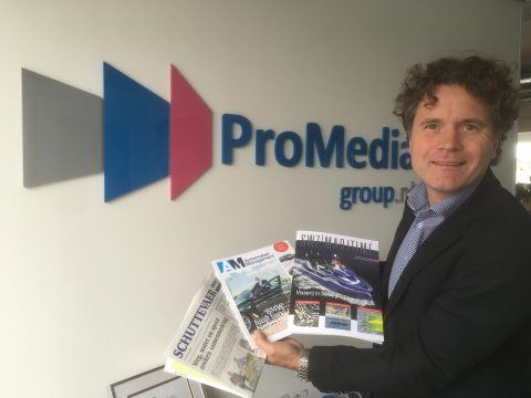 Directeur Joan Blaas van ProMedia Group