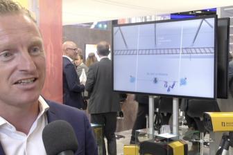Lex van der Poel van Dual Inventive op InnoTrans 2018