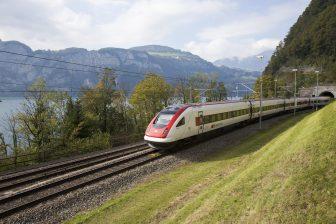 SBB trein © SBB CFF FFS