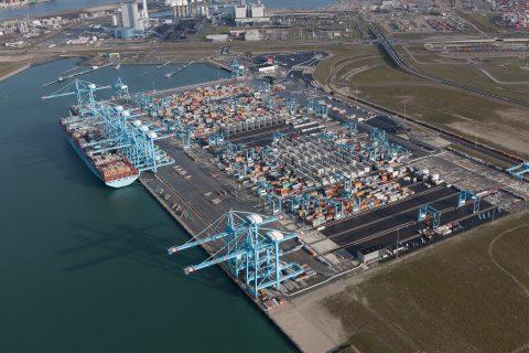 Terminal van APM Terminals op Maasvlakte II in Rotterdam. Bron: APM Terminals