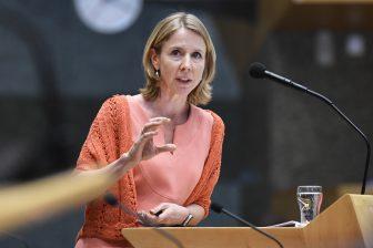 Staatssecretaris Stientje van Veldhoven van Infrastructuur en Waterstaat, foto: Hollandse Hoogte