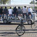 Een bierfiets, bron: Hollandse Hoogte