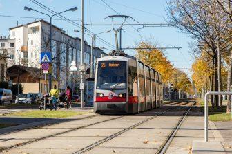Lijn 25 richting Aspern te Wenen