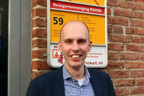 Directeur Freek Bos van Rover