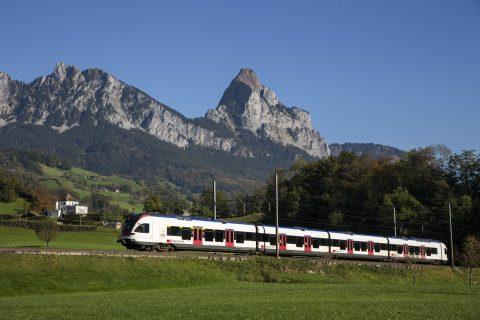 Een passagierstrein van SBB, bron: SBB CFF FFS