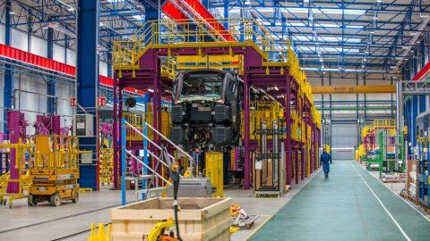 Alstoms nieuwe productielijn ICNG in Polen
