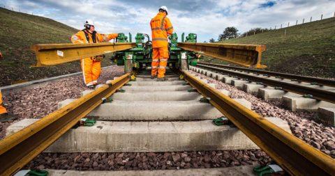 Network Rail legt spoor voor de grensovergang
