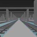 tweelaags treinparkeergarage