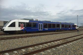 Arriva trein in Limburg