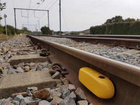 plaatsen sensoren op spoor door Dual Inventive