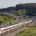 Een ICE-hogesnelheidstrein tussen Berlijn en München, foto: Hollandse Hoogte