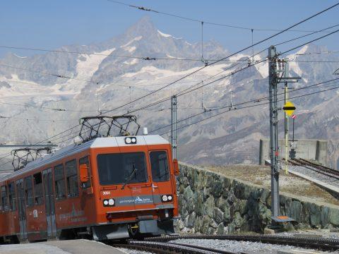 Rail Away Zwitserland, zicht op Gornergrat, foto: EO