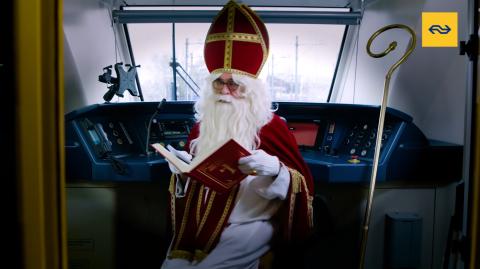 Sinterklaas Roger van Boxtel, bron: NS