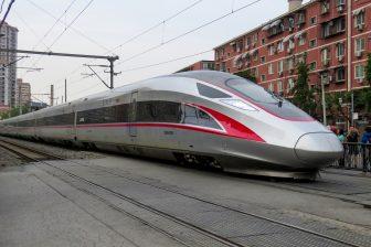 Fuxing CR400AF hogesnelheidstrein, bron: Wikimedia Commons