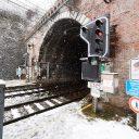 Camera's tegen spoorlopers in Luik, foto: Infrabel