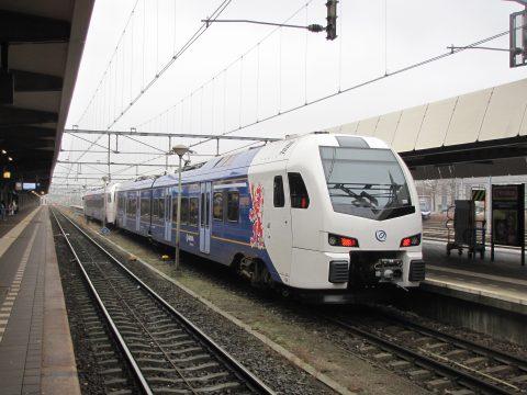Een Flirt-trein van Arriva op station Maastricht, foto: Wikimedia Commons