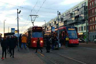 Trams in Den Haag