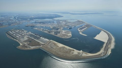 Maasvlakte, foto: Aeroview / Havendrijf Rotterdam