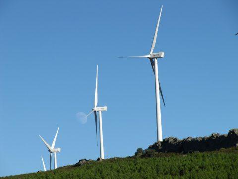 Een windturbine, foto: Pxhere.com