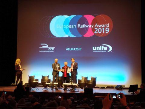 Catherine Trautmann, European Railway Awards