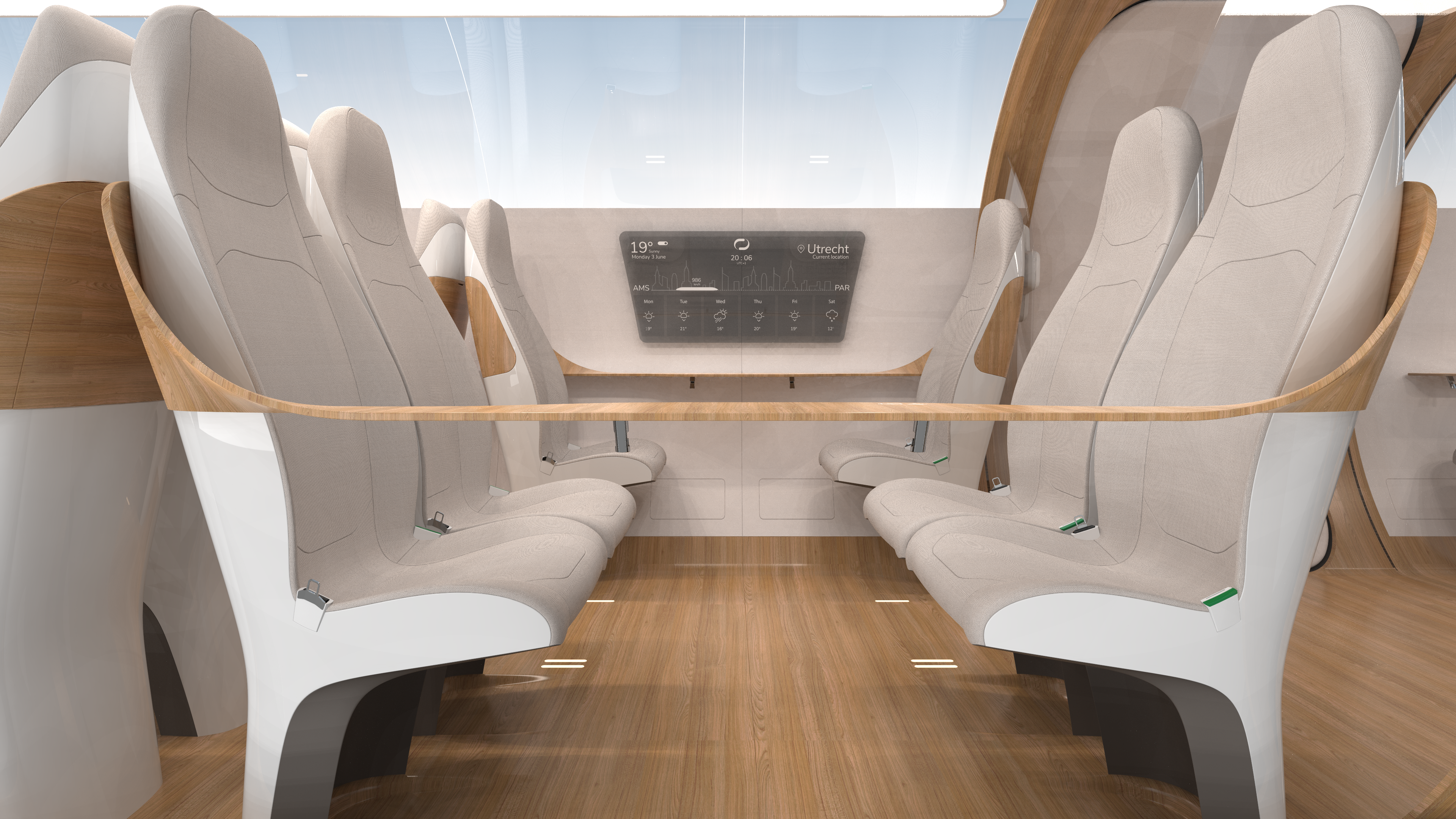 Hyperloop interieur