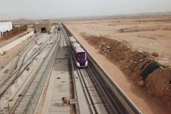 Testrit metro Alstom in Riyad