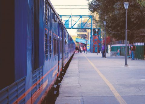 Een trein in Delhi in India, bron: Pixabay