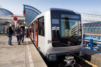 De M5-metro van de Noord/Zuidlijn