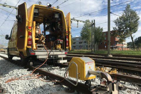 Railinfra-apparatuur ETS Spoor
