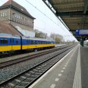 Een NS-trein op station Deventer