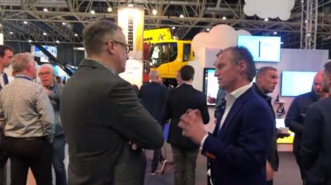 Directeur Lex van der Poel van Dual Inventive tijdens RailTech Europe 2019