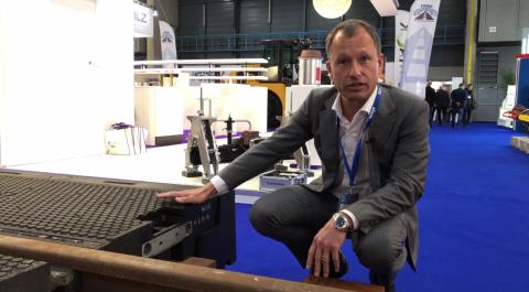 Directeur Mark van den Rijen van Alom op RailTech Europe 2019