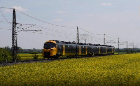 ICNG van Alstom op testbaan Tsjechië, bron: NS