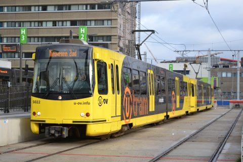U-tram op Sunij-lijn, bron: wikipedia