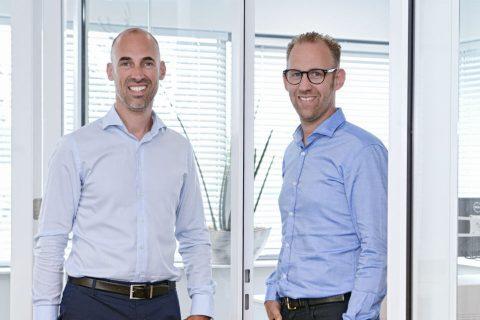 Sander en Rogier Schulmeister van ETS Spoor