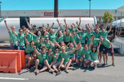 Delft hyperloop team, bron: Delft Hyperloop