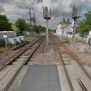 De plek in Avenay-Val-d'Or waar het ongeluk gebeurde, bron: Google Maps